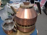 brass teeset ,glases wit copper in Baumholder, GE