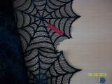 "new 90"" round black lace halloween tablecloths in Goldsboro, North Carolina"