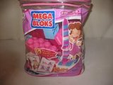 LOT OF PINK MEGA BLOCKS WITH ITS ORIGINAL BAG in Naperville, Illinois