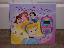 Disney Princess Play A Song Book in Yorkville, Illinois