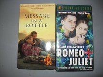Message In a Bottle/Romeo & Juliet VHS in Fort Benning, Georgia