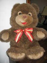 Large Stuffed Bear with Bow in Fort Benning, Georgia