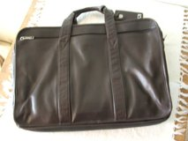 TUMI brown leather briefcase in Glendale Heights, Illinois