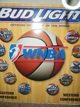 BUD LIGHT WNBA METAL SIGN in Pasadena, Texas
