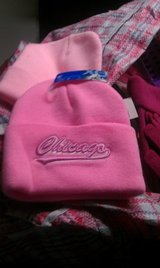 XO Winter Collection Chicago embroidered knit caps in Naperville, Illinois